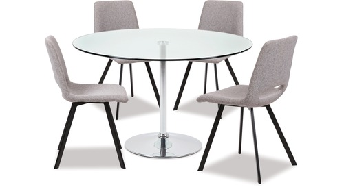 Becky Dining Table & Pepper Chairs x 4