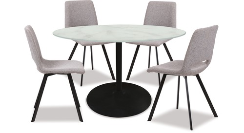 Tarifa Dining Table & Pepper Chairs x 4