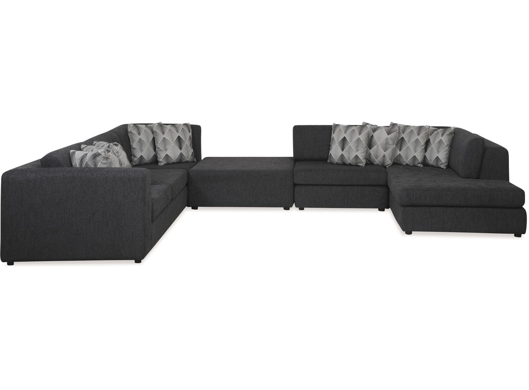 fabric seater chaise three lzlambeth set futon lounges cco lounge luxo ma corner furniture couch suite sofa itm lambeth