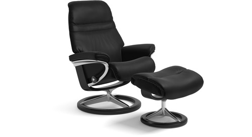 Stressless® Sunrise Leather Recliner   Signature Base   3 Sizes Available
