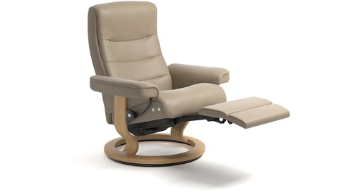 Stressless® Nordic Leather Recliner - LegComfort - 2 Sizes Available